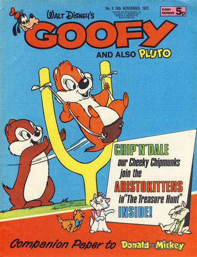 Cover for Goofy (IPC, 1973 series) #6