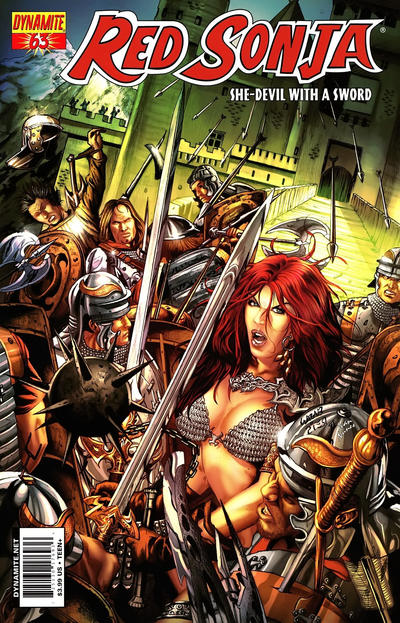 Cover for Red Sonja (Dynamite Entertainment, 2005 series) #63 [Cover B]