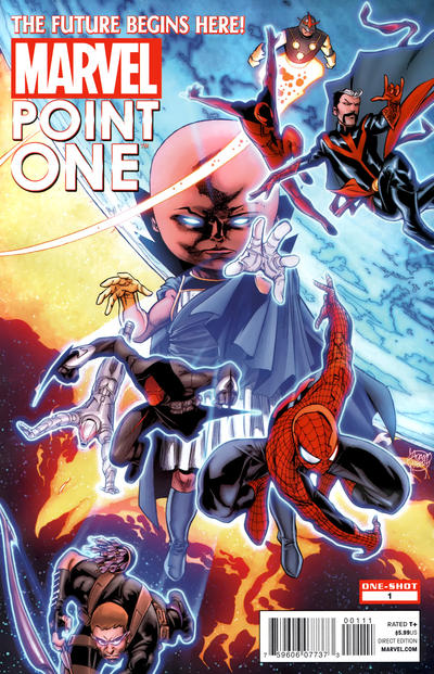 Cover for Point One (Marvel, 2012 series) #1