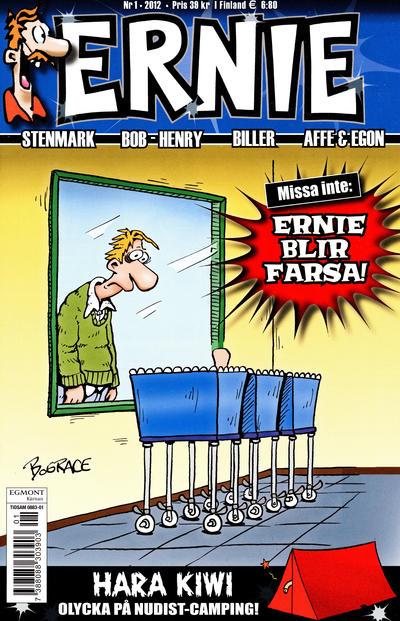 Cover for Ernie (Egmont, 2000 series) #1/2012