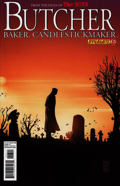 Cover for The Boys: Butcher, Baker, Candlestickmaker (Dynamite Entertainment, 2011 series) #6