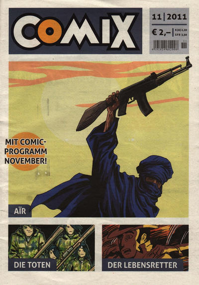 Cover for Comix (JNK, 2010 series) #11/2011