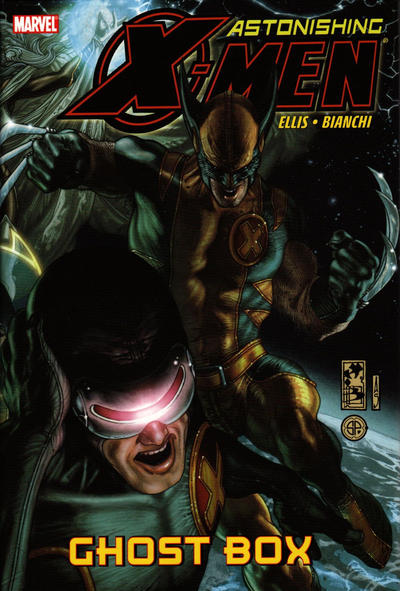Cover for Astonishing X-Men: Ghost Box (Marvel, 2009 series)