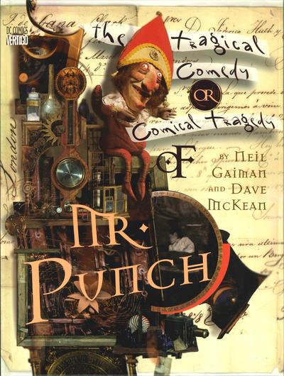 Cover for The Tragical Comedy or Comical Tragedy of Mr. Punch (DC, 1994 series)