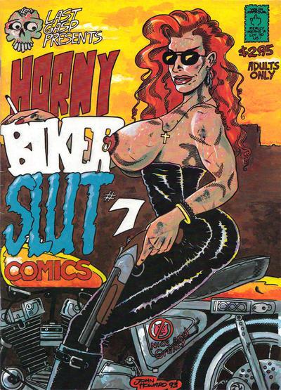 Cover for Horny Biker Slut Comics (Last Gasp, 1990 series) #7