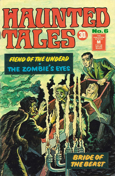 Cover for Haunted Tales (K. G. Murray, 1973 series) #6
