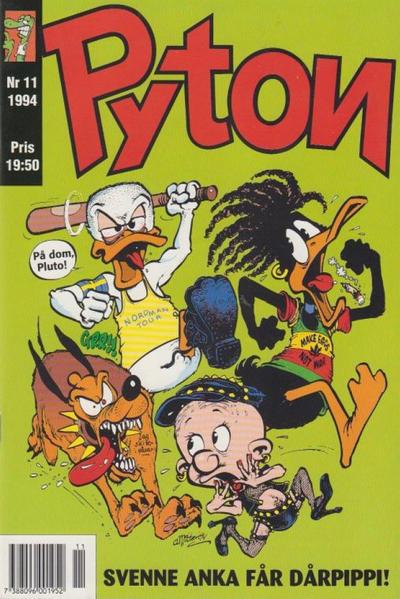 Cover for Pyton (Atlantic Förlags AB, 1990 series) #11/1994