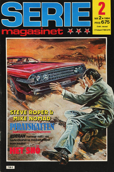 Cover for Seriemagasinet (Semic, 1970 series) #2/1984