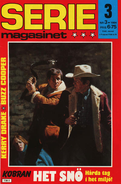 Cover for Seriemagasinet (Semic, 1970 series) #3/1984