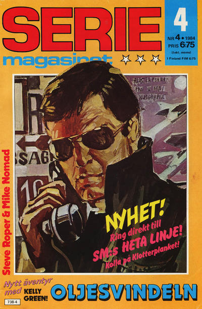 Cover for Seriemagasinet (Semic, 1970 series) #4/1984