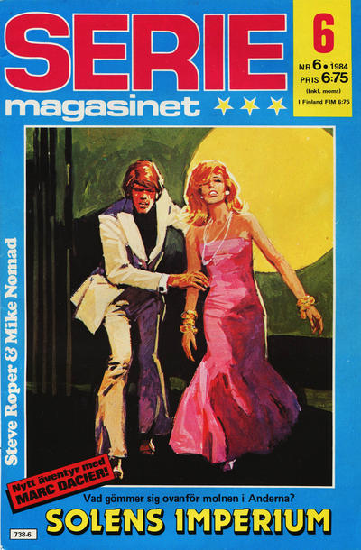 Cover for Seriemagasinet (Semic, 1970 series) #6/1984