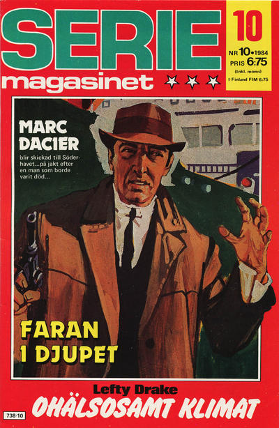 Cover for Seriemagasinet (Semic, 1970 series) #10/1984