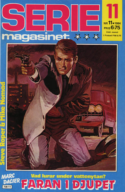Cover for Seriemagasinet (Semic, 1970 series) #11/1984