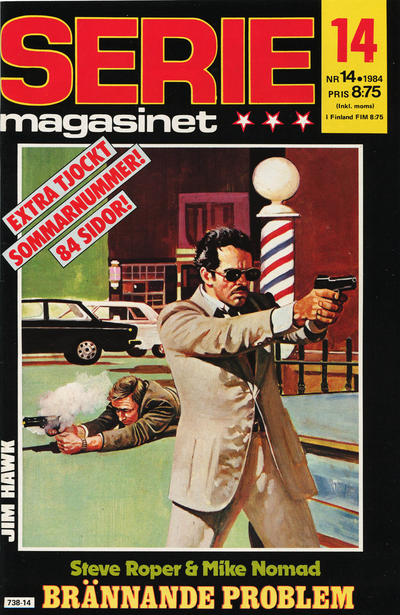 Cover for Seriemagasinet (Semic, 1970 series) #14/1984