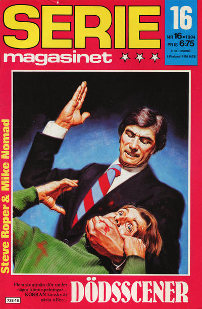 Cover for Seriemagasinet (Semic, 1970 series) #16/1984