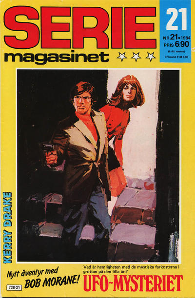 Cover for Seriemagasinet (Semic, 1970 series) #21/1984