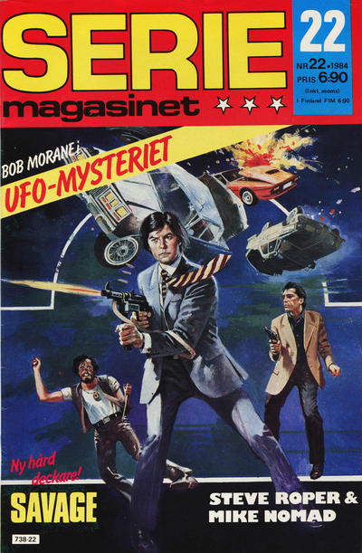Cover for Seriemagasinet (Semic, 1970 series) #22/1984