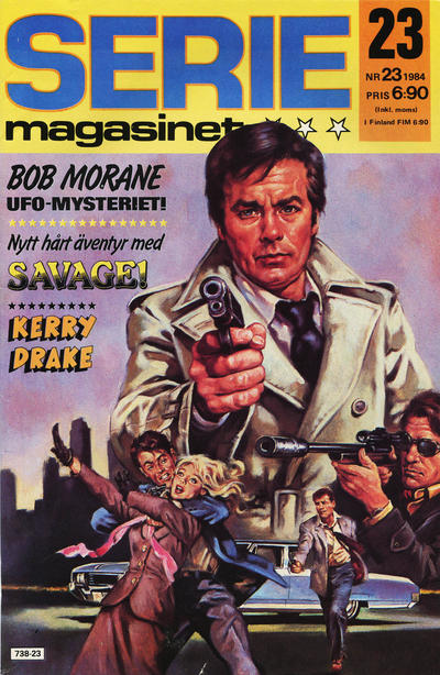 Cover for Seriemagasinet (Semic, 1970 series) #23/1984