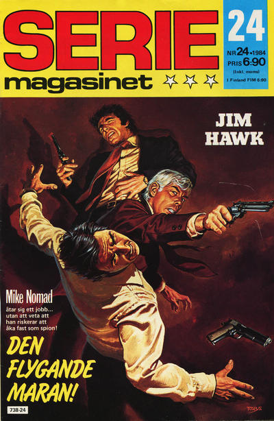 Cover for Seriemagasinet (Semic, 1970 series) #24/1984