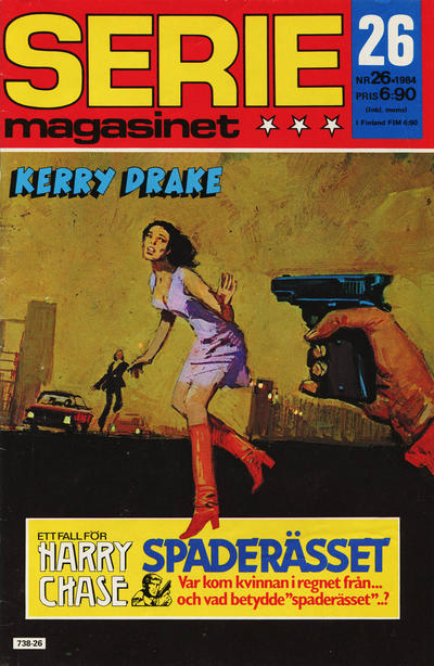 Cover for Seriemagasinet (Semic, 1970 series) #26/1984