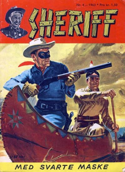 Cover for Sheriff (Serieforlaget / Se-Bladene / Stabenfeldt, 1959 series) #4/1963