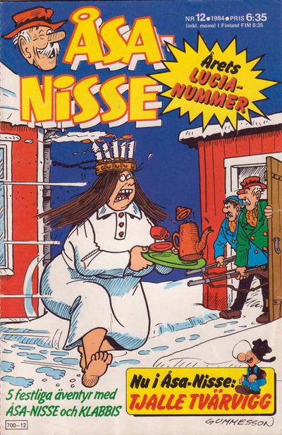 Cover for Åsa-Nisse (Semic, 1975 series) #12/1984