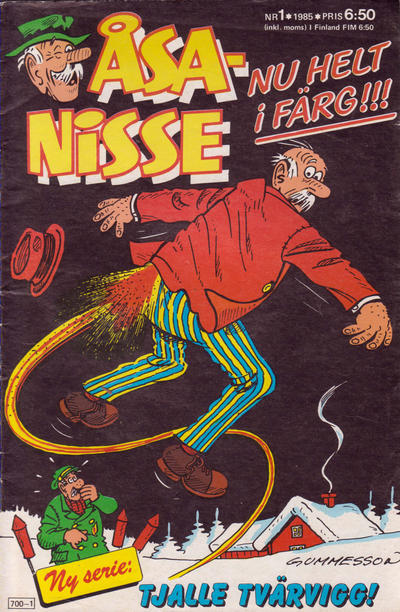 Cover for Åsa-Nisse (Semic, 1975 series) #1/1985