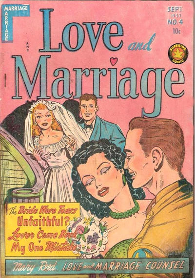 Cover for Love and Marriage (Superior Publishers Limited, 1952 series) #4