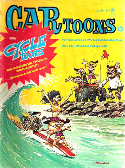Cover for CARtoons (Petersen Publishing, 1961 series) #77