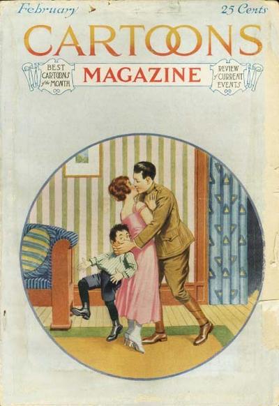 Cover for Cartoons Magazine (H. H. Windsor, 1913 series) #v15#2 [86]