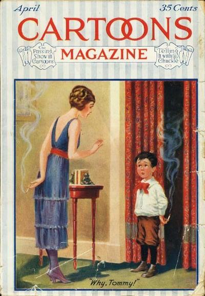 Cover for Cartoons Magazine (H. H. Windsor, 1913 series) #v19#4 [112]