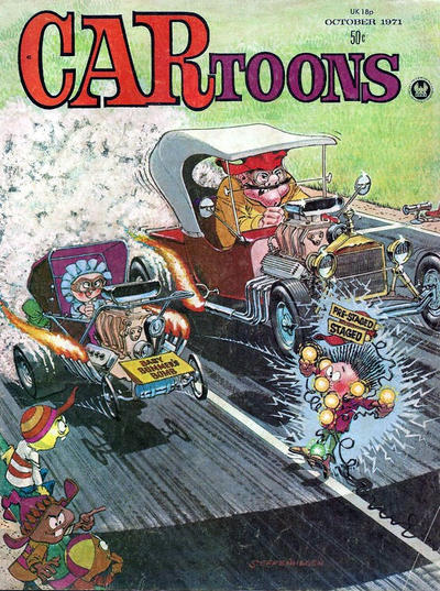 Cover for CARtoons (Petersen Publishing, 1961 series) #61