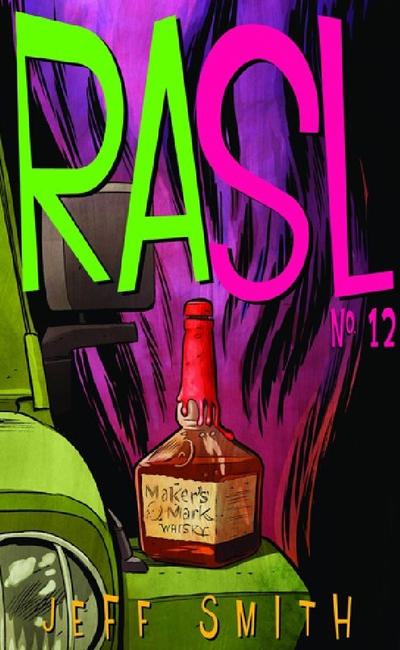 Cover for RASL (Cartoon Books, 2008 series) #12