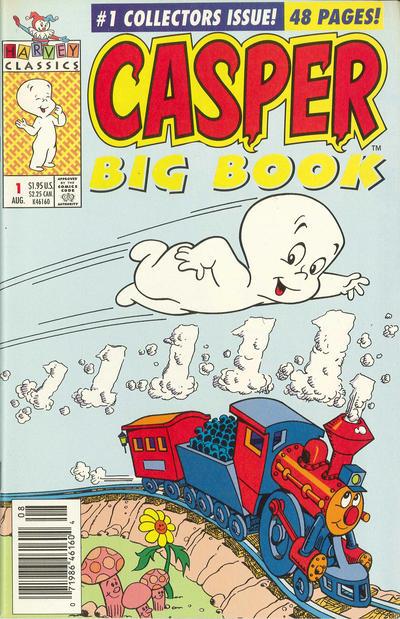 Cover for Casper Big Book (Harvey, 1992 series) #1