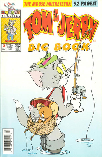 Cover for Tom & Jerry Big Book (Harvey, 1992 series) #2