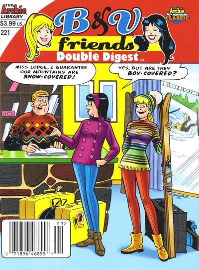 Cover for B&V Friends Double Digest Magazine (Archie, 2011 series) #221 [Direct]