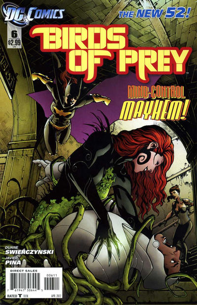 Cover for Birds of Prey (DC, 2011 series) #6