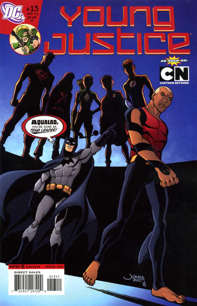 Cover for Young Justice (DC, 2011 series) #13