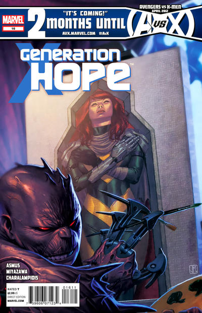 Cover for Generation Hope (Marvel, 2011 series) #16
