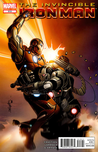 Cover for Invincible Iron Man (Marvel, 2008 series) #513
