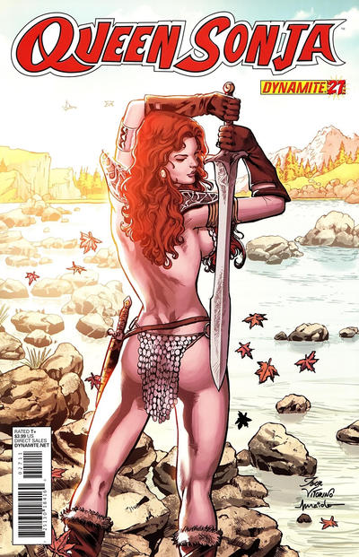 Cover for Queen Sonja (Dynamite Entertainment, 2009 series) #27 [Igor Vitorino Cover]