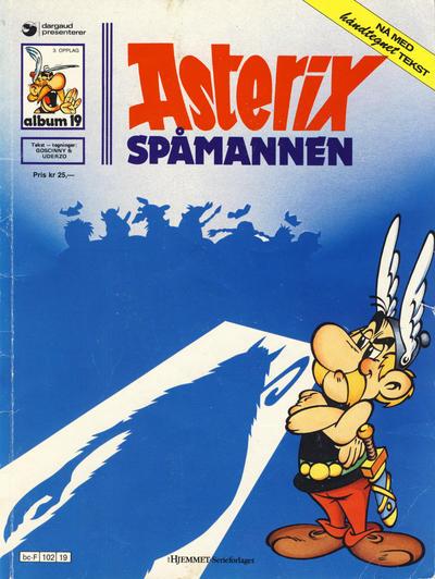 Cover for Asterix (Hjemmet / Egmont, 1969 series) #19 - Spåmannen [1. opplag]
