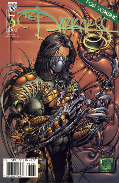 Cover for Darkness (Hjemmet / Egmont, 2000 series) #3/2000