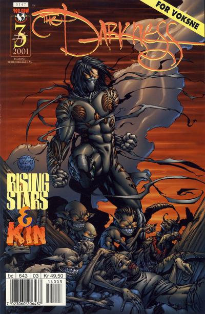 Cover for Darkness (Hjemmet / Egmont, 2000 series) #3/2001