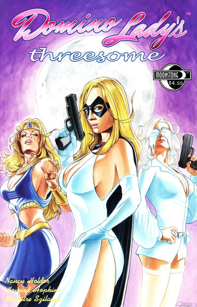 Cover for Domino Lady's Threesome (Moonstone, 2012 series)