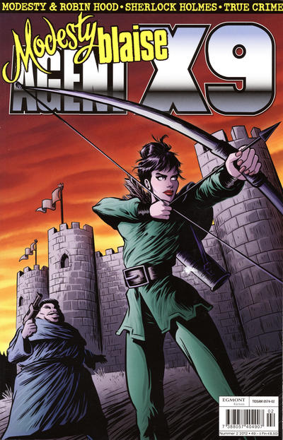 Cover for Agent X9 (Egmont, 1997 series) #2/2012