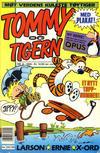 Cover for Tommy og Tigern (Bladkompaniet / Schibsted, 1989 series) #8/1990