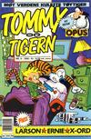 Cover for Tommy og Tigern (Bladkompaniet / Schibsted, 1989 series) #9/1990