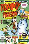 Cover for Tommy og Tigern (Bladkompaniet / Schibsted, 1989 series) #11/1990