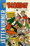 Cover for Blondie (Åhlén & Åkerlunds, 1956 series) #16/1960